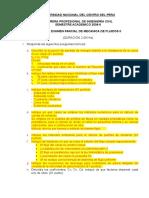 Segundo Examen Parcial de Mecanica de Fluidos II 2008-i