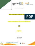 Formato Entrega Fase I Evalucion Nacional