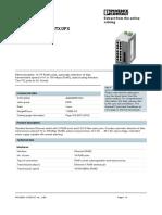 Fl Switch Sfn 14tx 2fx - 909-0781
