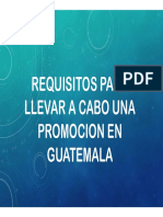Requisitos Para Una Promocion en Guatemala (1)
