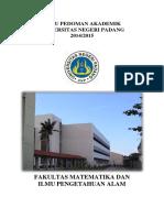 Buku Pedoman FMIPA 2014