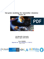Adsorption and desorption process in lab for H20, CO2, CO and mixture of H2O-CO2 on AU sample