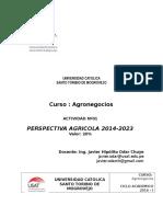 Desarrollo AgrÍcola 2023
