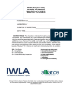 OSHA Alliance Workplace Safety Health Inspection Guide 2014
