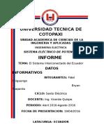 SEP Informe Practica