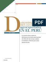 Lectura 01 Determinantes Del Crecimiento Agroexportador en El Peru