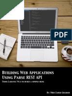 Building Web Applications Using Parse Rest API