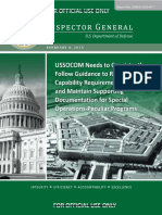 150204_DOD OIG Repot 2015-77_SOCOM Special Operations-Peculiar Programs_Redacted