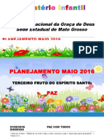 Planejamento Maio 2016