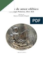 Poemas de Amor Efébico.