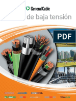 Cables de Baja Tension