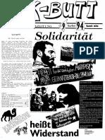 K-BUTT. Välzische Pfolxzeitung. Nr. 9 (1994)