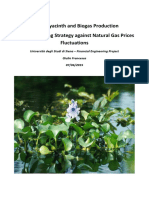 Water Hyacinth and Biogas Production