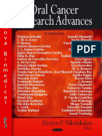 11460.Oral Cancer Research Advances by Alexios P. Nikolakakos