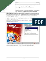 Instructivo Grabador de CD