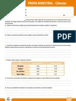 Ensino Fundamental Provas Bimestrais 2011 8o Ano Prova Bimestral 4 Caderno 4 Ciencias