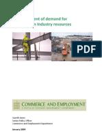 Construction Industry Demand Assesment