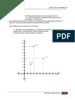 1-Sistema de Coordenadas - AutoCad - Erika Jacobs