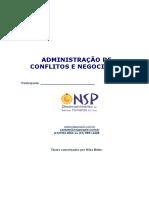 Apostila -Administração de Conflitos e Negociação