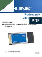 TL-WN310G User Guide