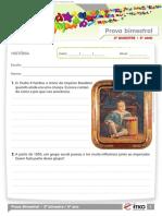 2012 5o Ano Prova Bimestral 2 Caderno 2 Historia