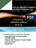 Orthogonal Trajectories in Cartesian Coordinates