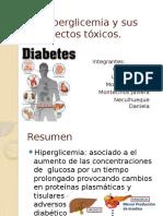 La Hiperglicemia y Sus Efectos Tóxicos