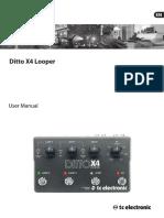 Ditto X4 Looper Manual