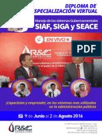DIPLOMA de especialización virtual - SIAF, SIGA y SEACE