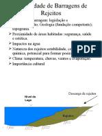 Estabilidade de Barragens de Rejeitos