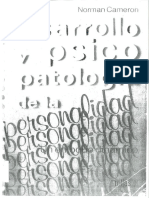 Desarrollo y Psicopatologia de La Personalidad