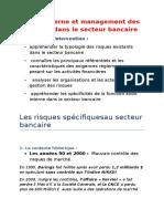 Audit Interne Et Management Des Risques Dans Le Secteur Bancaire