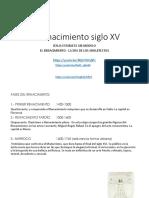 El Renacimiento siglo XV.pdf