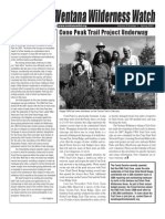 Ventana Wilderness Watch Newsletter, Spring 2007 ~ Ventana Wilderness Alliance