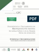 Guía CENETEC Bronquiolitis