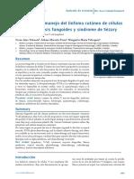 Diagnostico y Manejo Del Linfoma Cutaneo