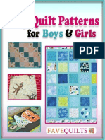 14 Easy Baby Quilt Patterns for Boys and Girls.pdf