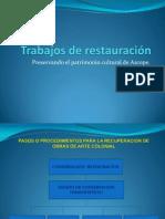 Trabajo de Restauracion Del Patrimonio Cultural - Ascope -La Libertad
