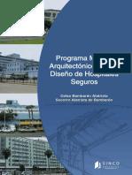 Programa Medico Arquitectonico Para El Diseño de Hospitales Seguros