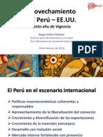 Aprovechamiento APC Perú - EE.uu