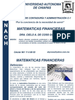 MATEMATICAS FINANCIERAS-1