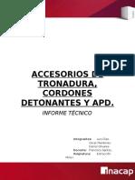 Accesorios Tronadura
