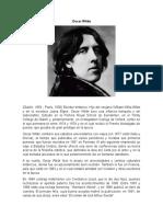 Oscar Wilde (ensayo)