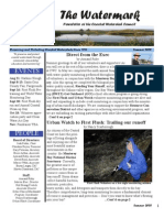 The Watermark Newsletter,  Winter 2006-2007 ~ Coastal Watershed Council