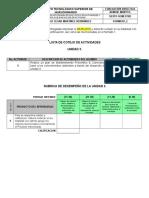 12. Lista de Cotejo y Rubrica de Evaluación de Actividades - Copia