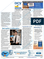 Pharmacy Daily for Tue 17 May 2016 - NPS issues CM warning, Electronic S8 warning, Paracetamol schedule, Guild Update and much more