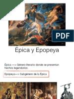 Epica y Epopeya