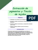 Extracción de Pigmentos y Tinción de Tejidos