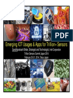 TSensorSummit-Emerging IOT Usages & Apps for Trillion+ Sensors-Sandhi Bhide-Tokyo-Japan-Feb20-21,2014