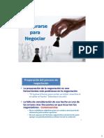 Teoría y Estrategia de Negociación, Parte 2
